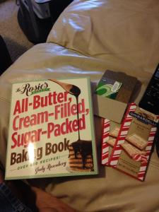 Baking book, Starbucks GC and Candy!