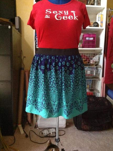My new skirt