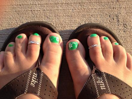 Green Toes